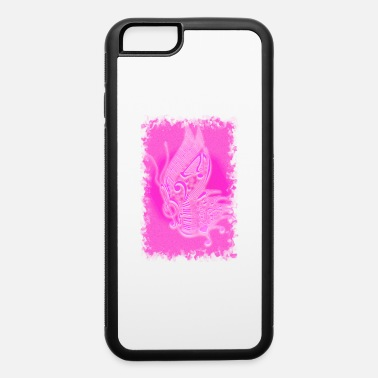 Audio music butterfly pink - iPhone 6/6s Rubber Case