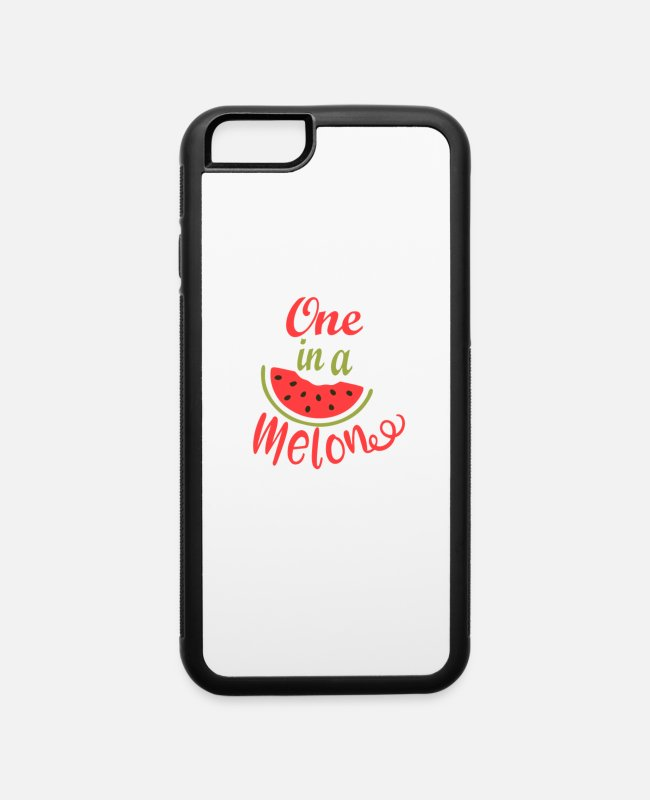 Red iPhone Cases - One In A Melon - iPhone 6 Case white/black