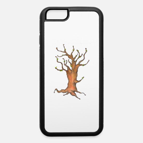 Gift Idea iPhone Cases - Tree - iPhone 6 Case white/black