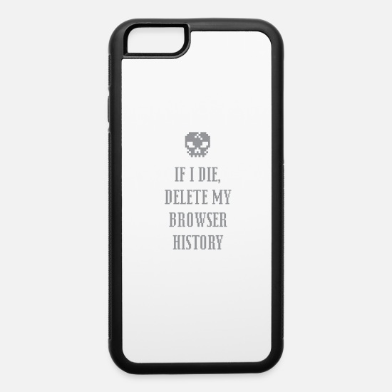 Funny Animals iPhone Cases - Funny BrowserHistory 01 - iPhone 6 Case white/black