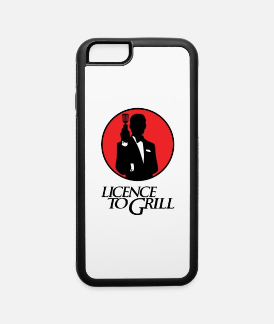BBQ iPhone Cases - Licence to Grill - iPhone 6 Case white/black