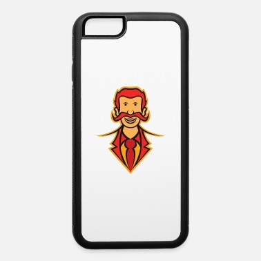 Father Mascot Funny Elegant Dad - iPhone 6 Case