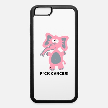 Breast Cancer Awareness Fight Fuck Cancer Breast Comic Elephant Fun - iPhone 6 Case