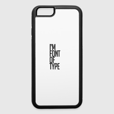 font - iPhone 6/6s Rubber Case