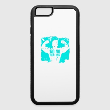 No pain no gain - iPhone 6/6s Rubber Case