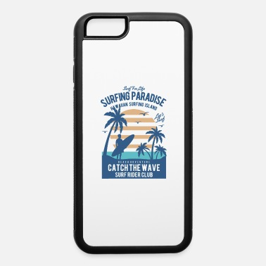 Hawaii Surfing Paradise - iPhone 6/6s Rubber Case
