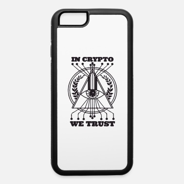 Code in crypto we trust - iPhone 6 Case