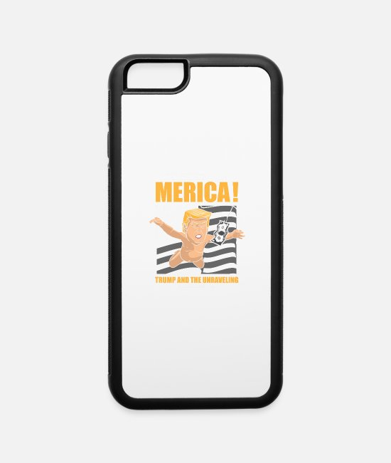 Usa iPhone Cases - Trump Nirvana - iPhone 6 Case white/black