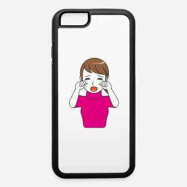 Girl Cry Crying Girl - iPhone 6 Case