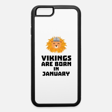 Barbarian Lion Vikings are born in January Sva42 - iPhone 6 Case