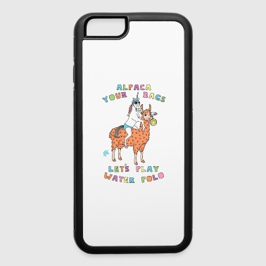 Alpaca Your Bags Let s Play Water Polo Female Un - iPhone 6/6s Rubber Case