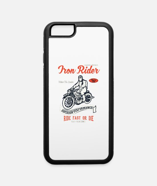 Pilot iPhone Cases - Iron Rider - iPhone 6 Case white/black