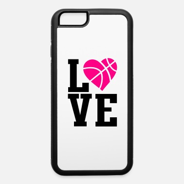 love basketball heart - iPhone 6 Case
