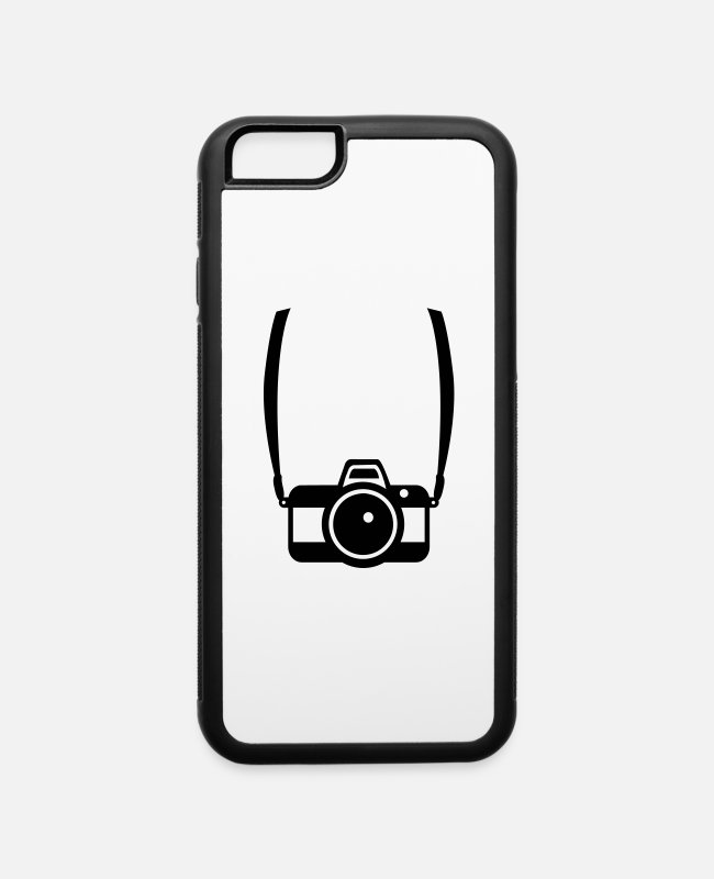Shooting iPhone Cases - Camera - iPhone 6 Case white/black