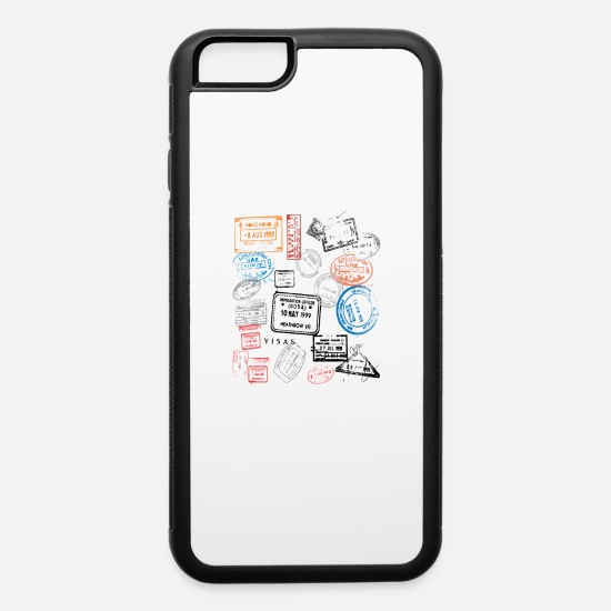 Stamp iPhone Cases - Stamps - iPhone 6 Case white/black