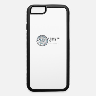 Crook Crooked Lines Album Cover Art - iPhone 6/6s Rubber Case