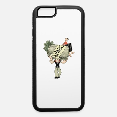 Spinach The Sailor Man with the Spinach Can - iPhone 6 Case