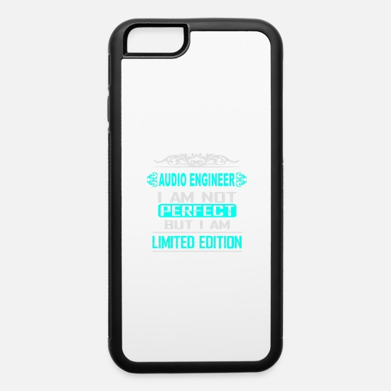 Birthday Present iPhone Cases - AUDIO ENGINEER - iPhone 6 Case white/black