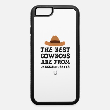Leather The best Cowboys are from Massachusetts Gift - iPhone 6 Case