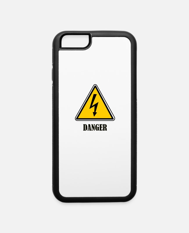 Danger Clothing iPhone Cases - danger - iPhone 6 Case white/black