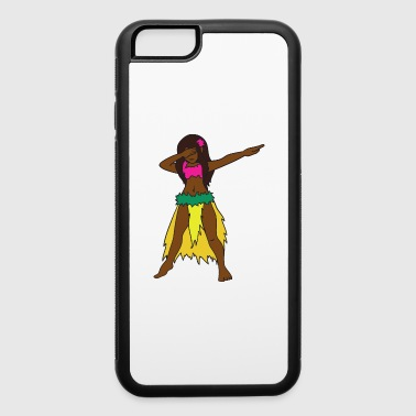 Dabbing Dab Hula Girl - iPhone 6/6s Rubber Case