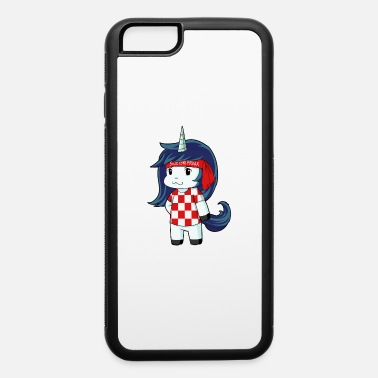 World Champion Croatia world champion unicorn - iPhone 6/6s Rubber Case