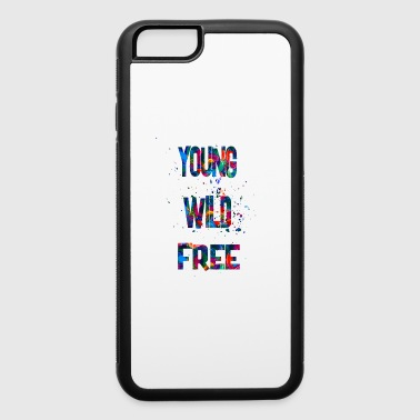 young wild free - iPhone 6/6s Rubber Case