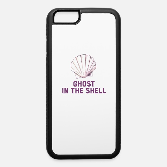 Movie iPhone Cases - Ghost In The Shell - iPhone 6 Case white/black