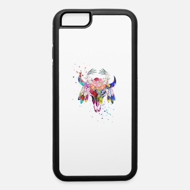 Native American Buffalo Native American Buffalo skull - iPhone 6 Case