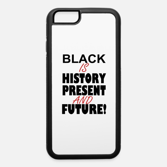 Black History iPhone Cases - black_history - iPhone 6 Case white/black