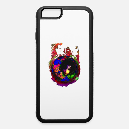 Trippy iPhone Cases - aSyd - iPhone 6 Case white/black