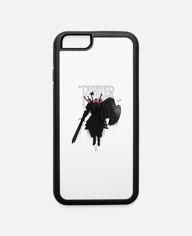 Play iPhone Cases - The Pursuer - iPhone 6 Case white/black