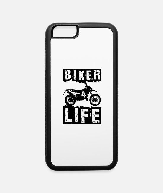 Grandpa iPhone Cases - Biker - iPhone 6 Case white/black