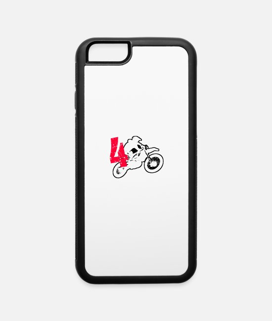 Husband iPhone Cases - Biker - iPhone 6 Case white/black