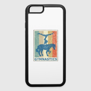 Retro Vintage Style Horse Gymnastics Gymnast - iPhone 6/6s Rubber Case
