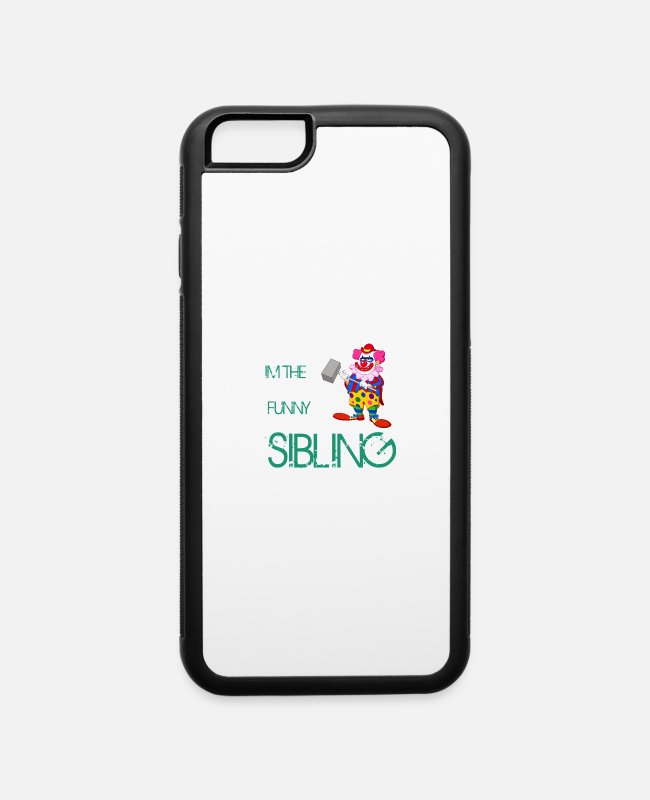 Quote iPhone Cases - Siblings - iPhone 6 Case white/black