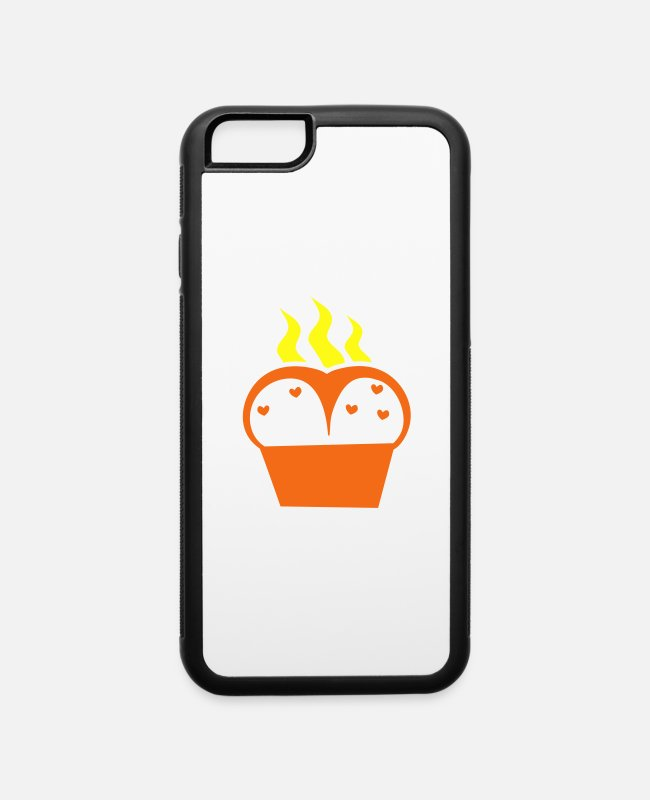 Pregnancy iPhone Cases - hot oven bread - iPhone 6 Case white/black
