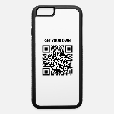 Code QR Code 1 color - iPhone 6 Case