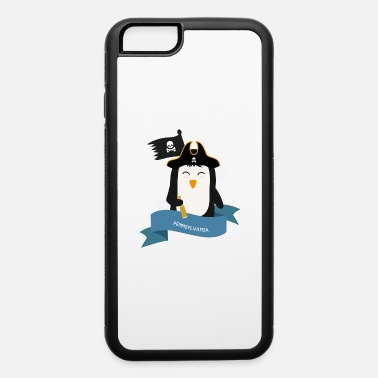 Catamarancharter Penguin Pirate Captain from PENNSYLVANIA S64snw - iPhone 6 Case
