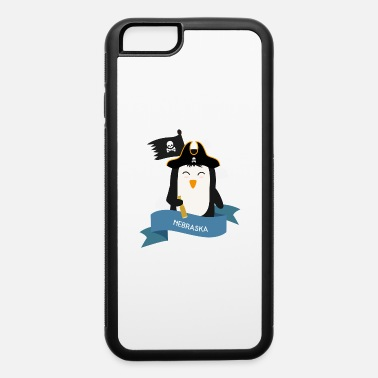 Navigator Penguin Pirate Captain from NEBRASKA Gift - iPhone 6 Case