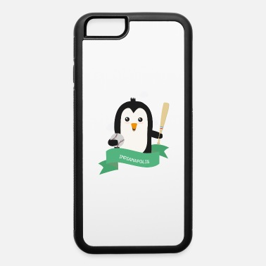 Natur Baseball Penguin from INDIANAPOLIS Gift - iPhone 6 Case