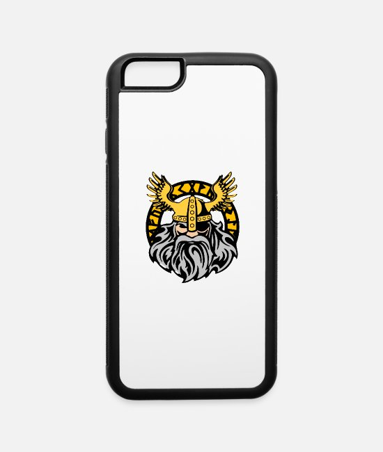 Vikings iPhone Cases - Odin Shirt - Gift - iPhone 6 Case white/black