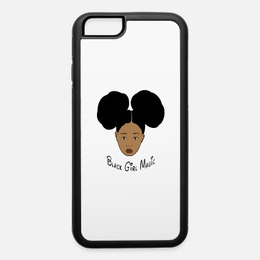 Black Girl Magic Afro Puffs - iPhone 6 Case