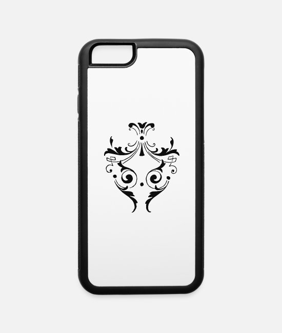 Design iPhone Cases - Verzierung-ornamente-Kall - iPhone 6 Case white/black