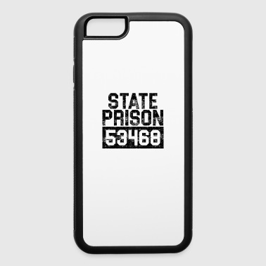 State Prison Prisoner Funny Prison - iPhone 6/6s Rubber Case