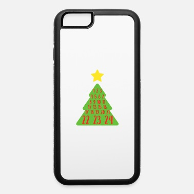 Countdown Design Advent Christmas Tree Numbers Christian Countdown - iPhone 6 Case