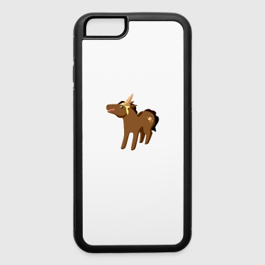 funny Unicorn - iPhone 6/6s Rubber Case