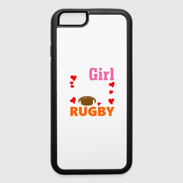 This Girl Loves Rugby - iPhone 6/6s Rubber Case