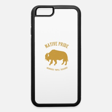 Native American Buffalo Native American Indian Gaur Bison - iPhone 6 Case