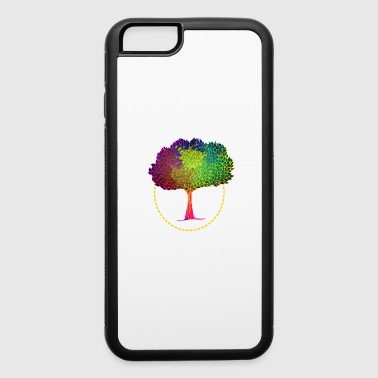 colorful gardener Tree-shirt - iPhone 6/6s Rubber Case